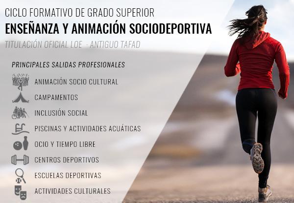 Tafad Y Acondicionamiento Físico Ciclo Formativos Santander
